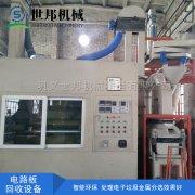 电路板回收设备主要是回收金属与塑料树脂